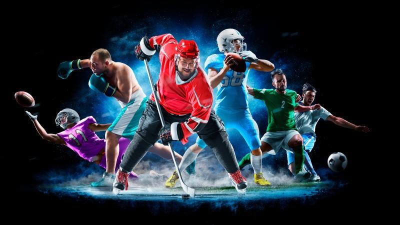 image of many sports